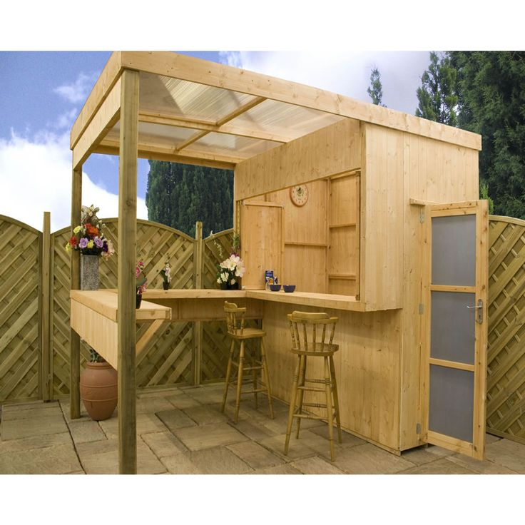 Outdoor Bar With Storage New House Ideas Pinterest