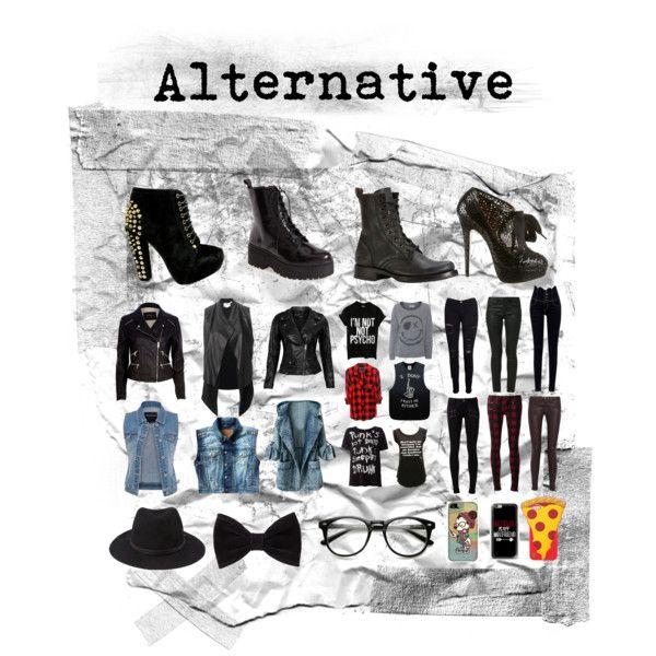 """Alternative"" by everythingrosy on Polyvore"