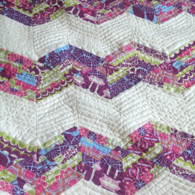 Chevron quilt # Pin++ for Pinterest # Quilting Pinterest