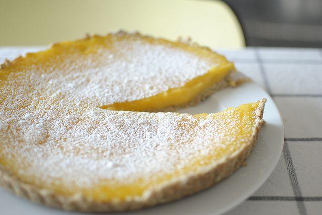 Lemon Curd Tart | TARTS | Pinterest