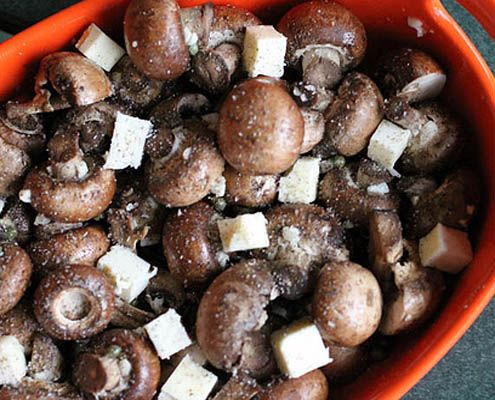 Garlic & Butter Roasted Mushrooms - Honest Cooking -- I made these ...