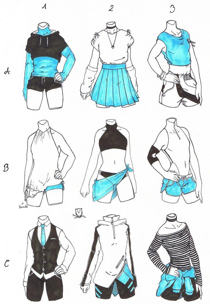 Рисованная одежда на человеке