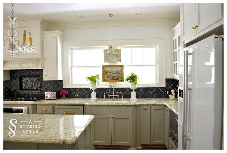Benjamin Moore's  Rockport Gray   Kitchens  Pinterest