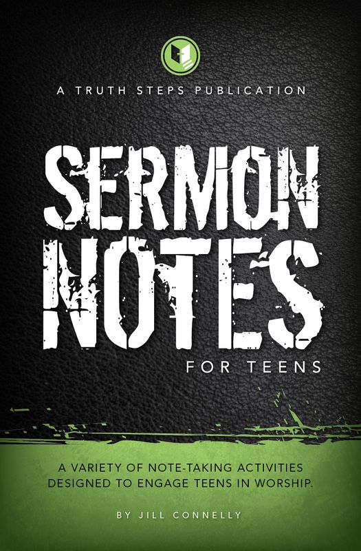Teaching teens to take notes in church for my kids pinterest