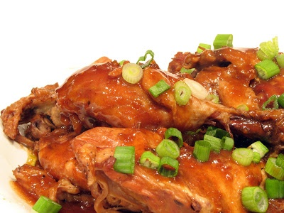 Chicken Adobo {Cookbook of the Month Recipe