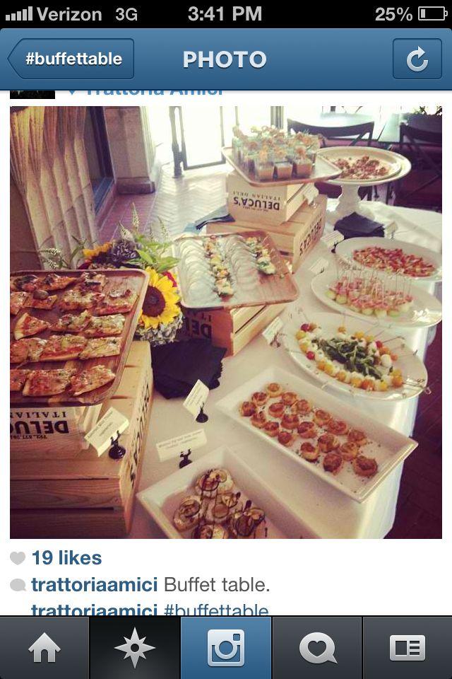 Buffet Set Up Etiquette