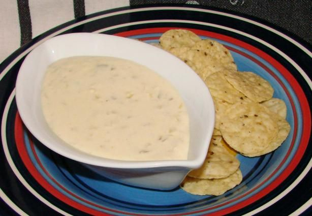 ... cheese. Try dunking red and green bell pepper strips and tortilla
