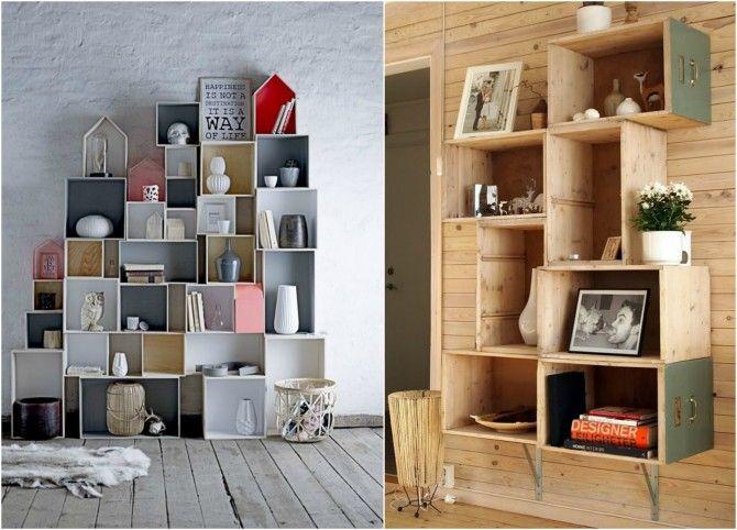 Decoracion mueble sofa cajas mudanza ikea for Como reciclar muebles de madera