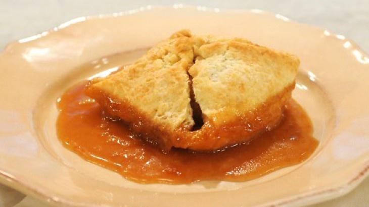 Apple Dumplings with Cider-Rum Sauce | Sweet Treats | Pinterest