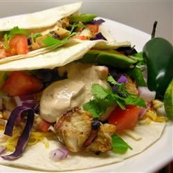 Grilled Fish Tacos with Chipotle-Lime Dressing for me tweak where need ...