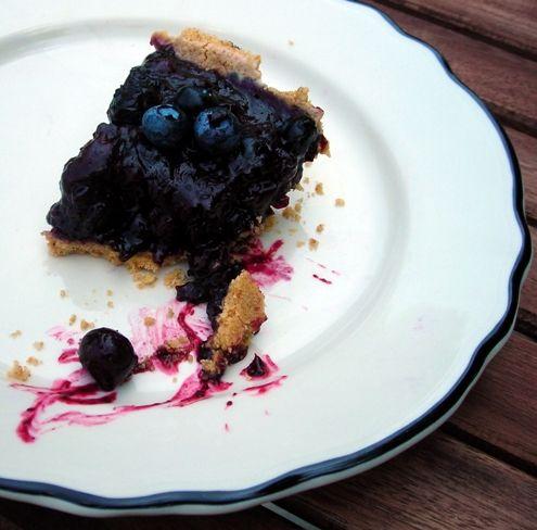 Blueberry Ginger Ice Box Pie | recipies | Pinterest