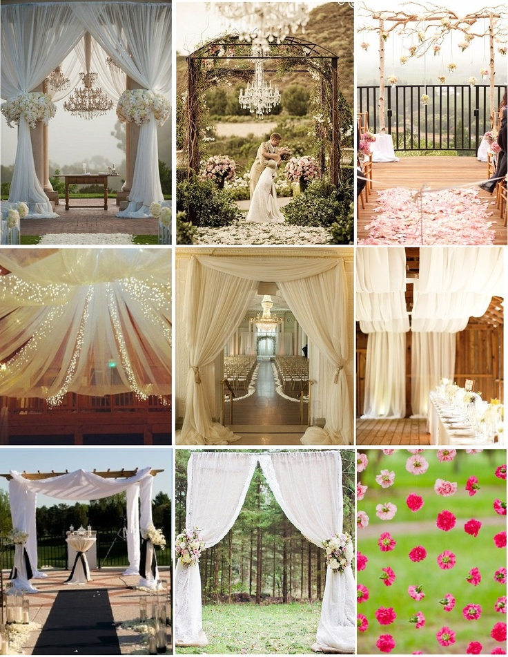 Altar decoration wedding 2 pinterest for Altar decoration wedding