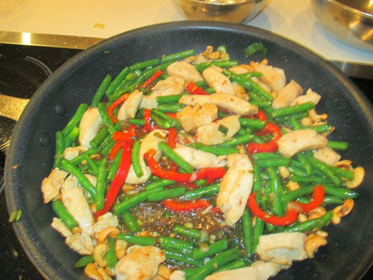 Stir-Fried Lemongrass Chicken | Recipes: Main Dishes | Pinterest