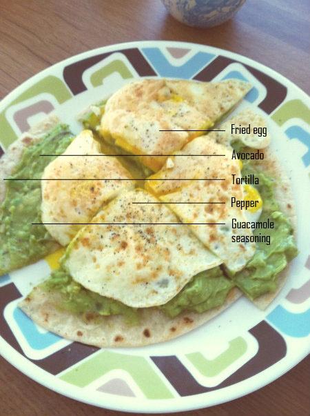 Breakfast at Victory's No. 10 >> Avocado & egg breakfast pizza