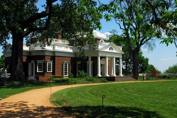 Monticello thomas jefferson 39 s home where to look if i 39 m for Thomas jefferson house monticello