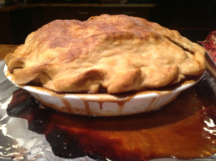 Mile-High Apple Pie Recipe — Dishmaps