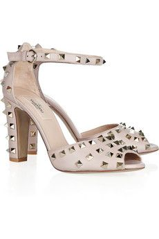 Valentino Studded (peep toe) Pumps