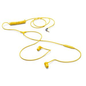 Swirl Earphone With Mic Yellow now featured on Fab.