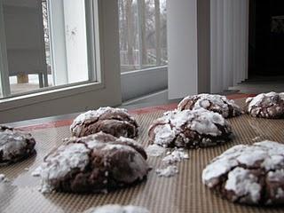 Chocolate Crinkle Cookies | Christmas / New Year | Pinterest
