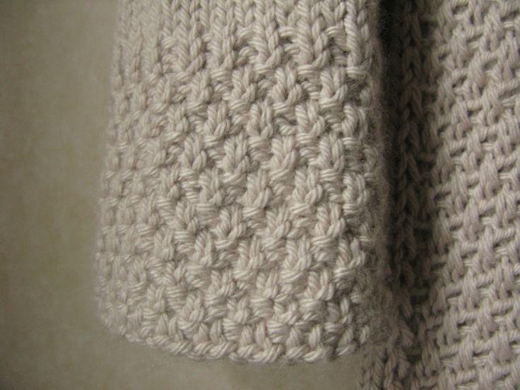 Knitting Moss Stitch How To : double moss stitch Knitting Pinterest