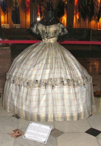 Civil war era ball gown.