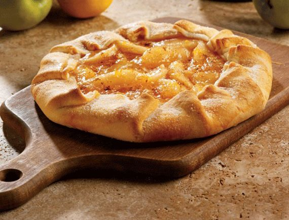 Rustic Apple Tart | via: alamodeus | sweets for the sweet | Pinterest