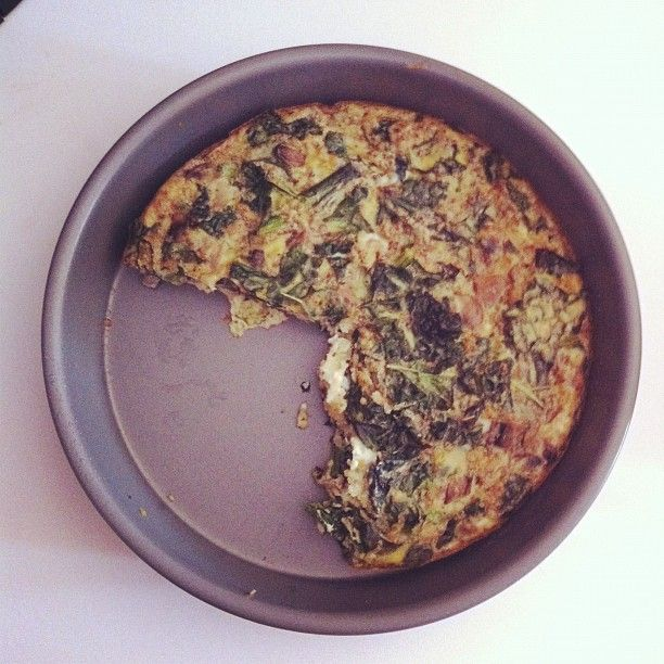 Egg and Kale Quiche | Lay Off Me I'm Starving | Pinterest