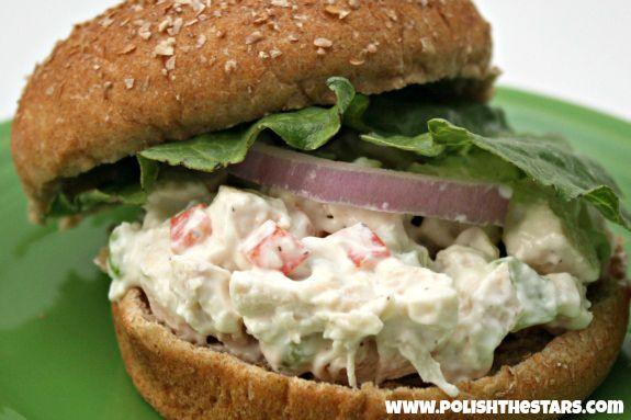 Ranch Chicken Salad on MyRecipeMagic.com | Yummy :) | Pinterest