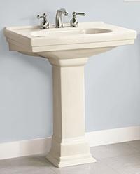 Pegasus Pedestal Sink : Structure Suite Pedestal Lavatory by Pegasus - 8 Inch Center Faucet ...