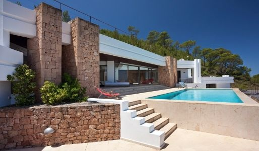 Luxury Coastal Villa with Exceptional Views, Ibiza - Vadella Mountain
