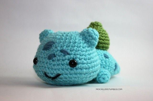 Crochet Bulbasaur Pokemon Crochet. part2 Pinterest