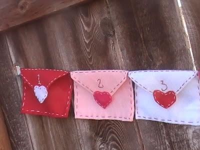 Felt Valentine Banner