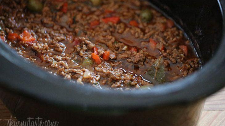 Crock Pot Picadillo | Mr. Food | Pinterest