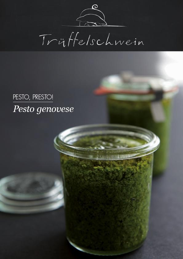 Pesto genovese | Veggie | Pinterest
