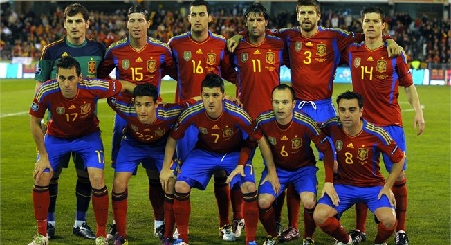 Spain National Football Team Euro | FAMOUS WORLD SOCCER ...