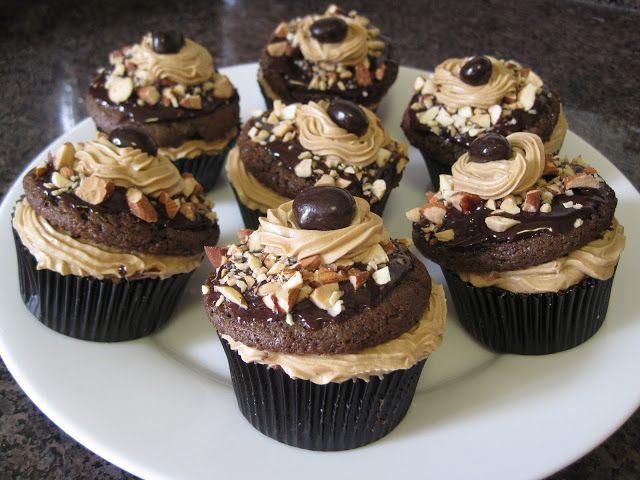 Mocha almond Vegan Cupcakes-so good! | Gourmet Cupcakes ...