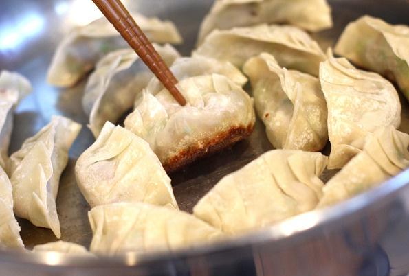 Gyoza (Japanese Pan-Fried Dumplings) | Variety of Food ítems! | Pinte ...