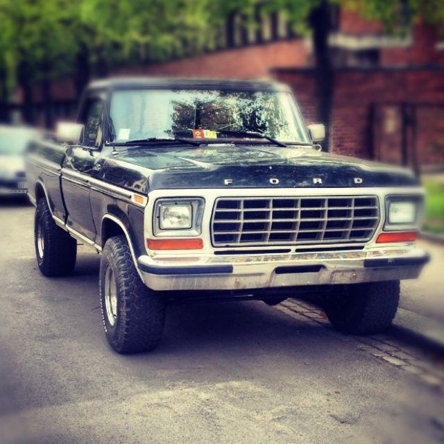 Meet my son - the 1978 Ford F150 4X4 7.5L