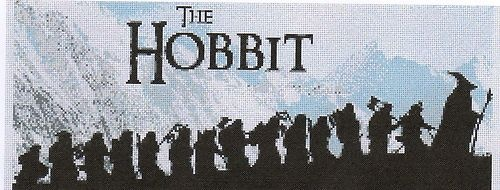 The Hobbit Cross Stitch Kit Lord of the Rings - Gandalf