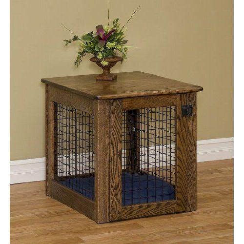 wood-dog-crate-plans.jpg (500×500) | # Wood Working | Pinterest