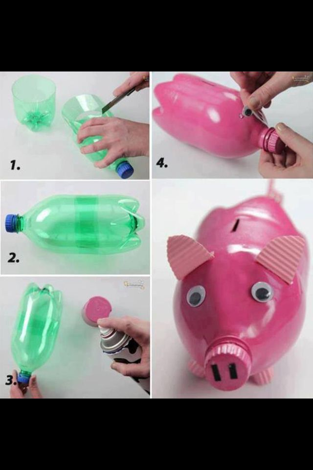 homemade piggy bank homemade gift ideas pinterest