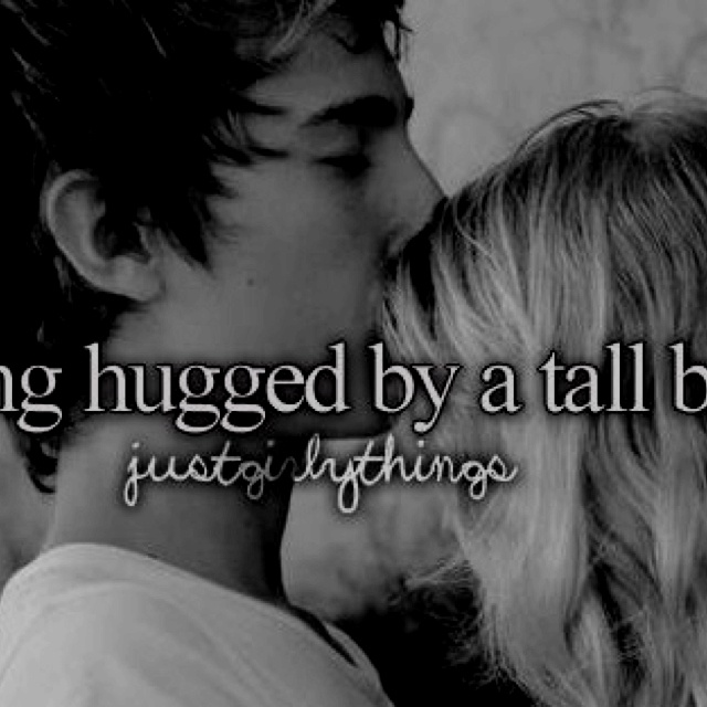 how to give good hugs to tall guys