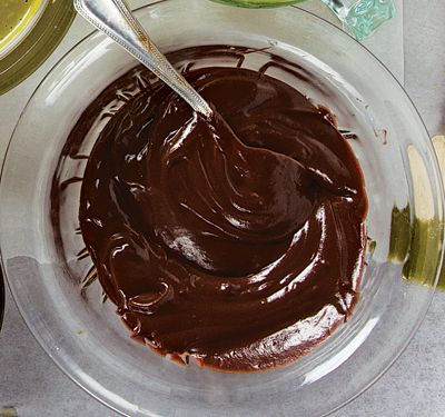 Dark Chocolate Ganache Glaze Recipe - Saveur.com