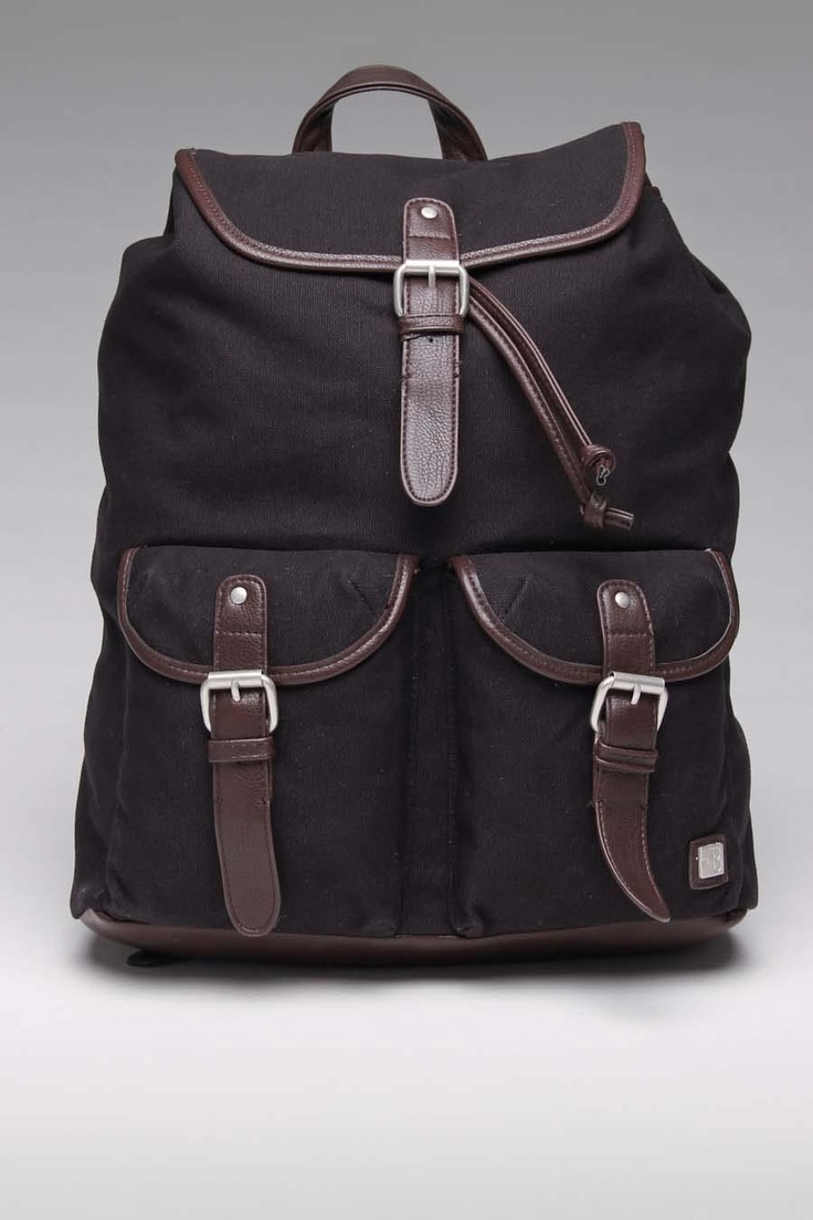 Chocolate Block Canvas Backpack