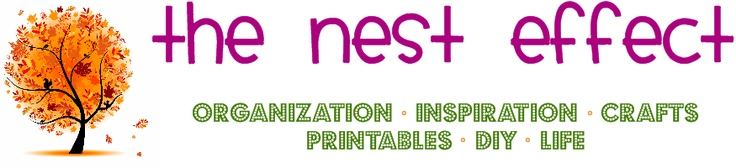 The Nest Effect   (organization, inspiration, crafts, printables, diy)