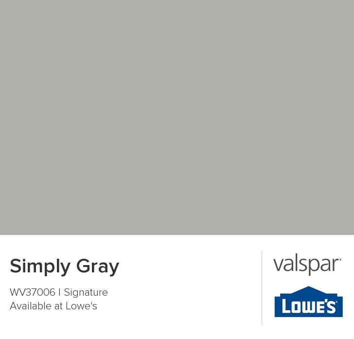 Valspar Paint Color Chip Simply Gray Barn On The Farm Pintere