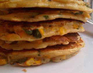 Jalapeno, Corn & Cilanto Cakes on Foodie | Gastronomical Delights | P ...