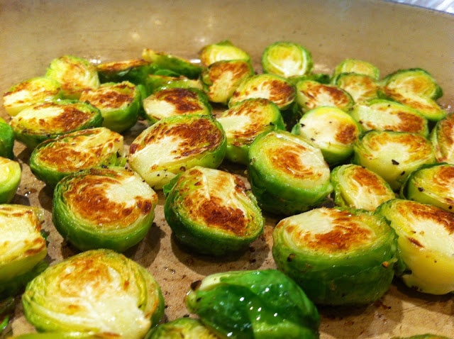 dijon-braised brussels sprouts | food | Pinterest
