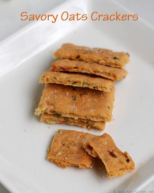 savory-oats-cracker-recipe by Raks anand, via Flickr