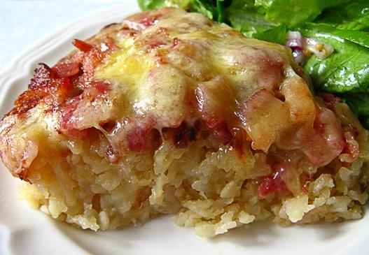 Linno-Yum: Rösti (Potato Pancake) With Cheese And Bacon